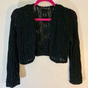 Crochet Cropped Sweater